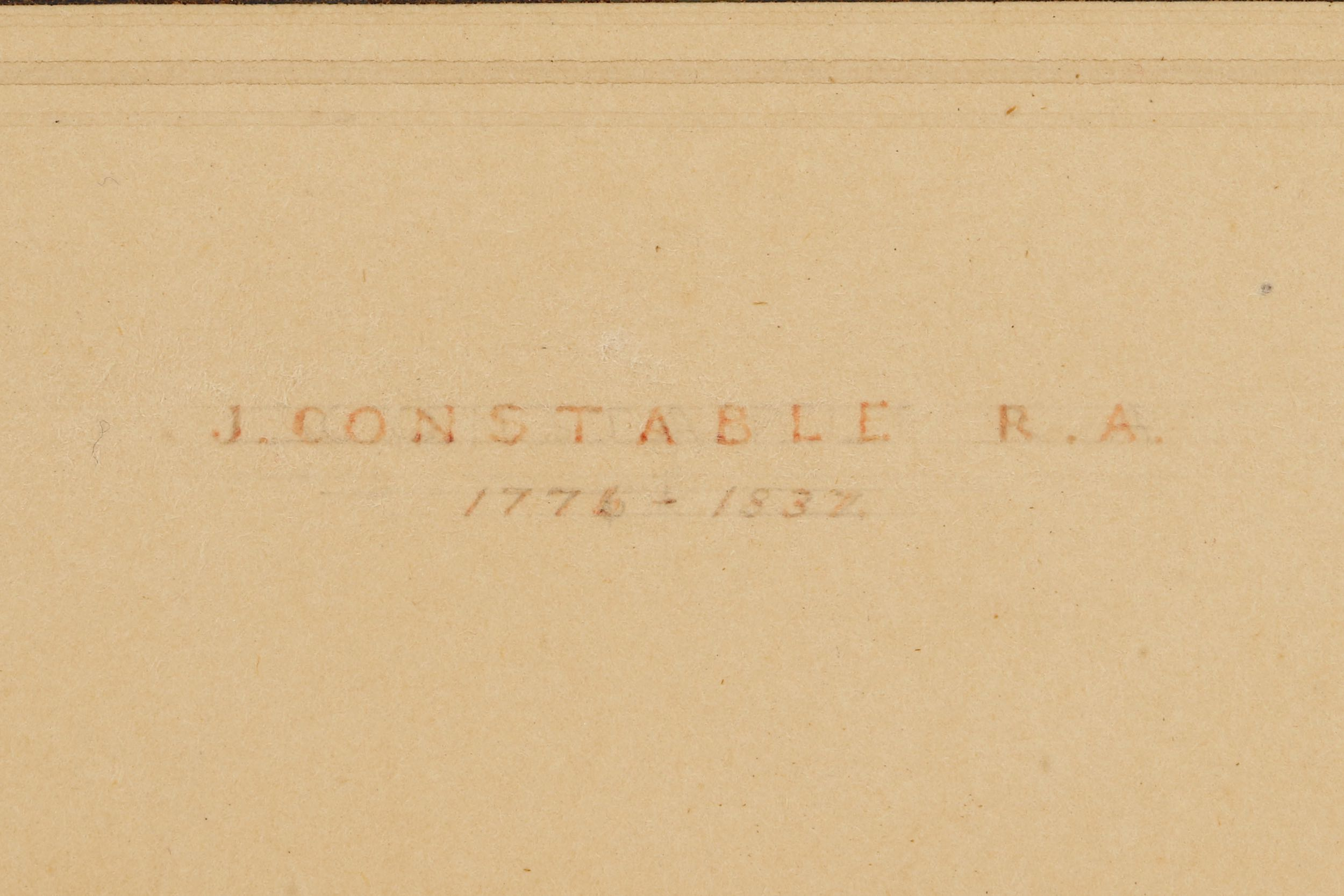 JOHN CONSTABLE RA (BRITISH 1776 -1837) - Image 6 of 7