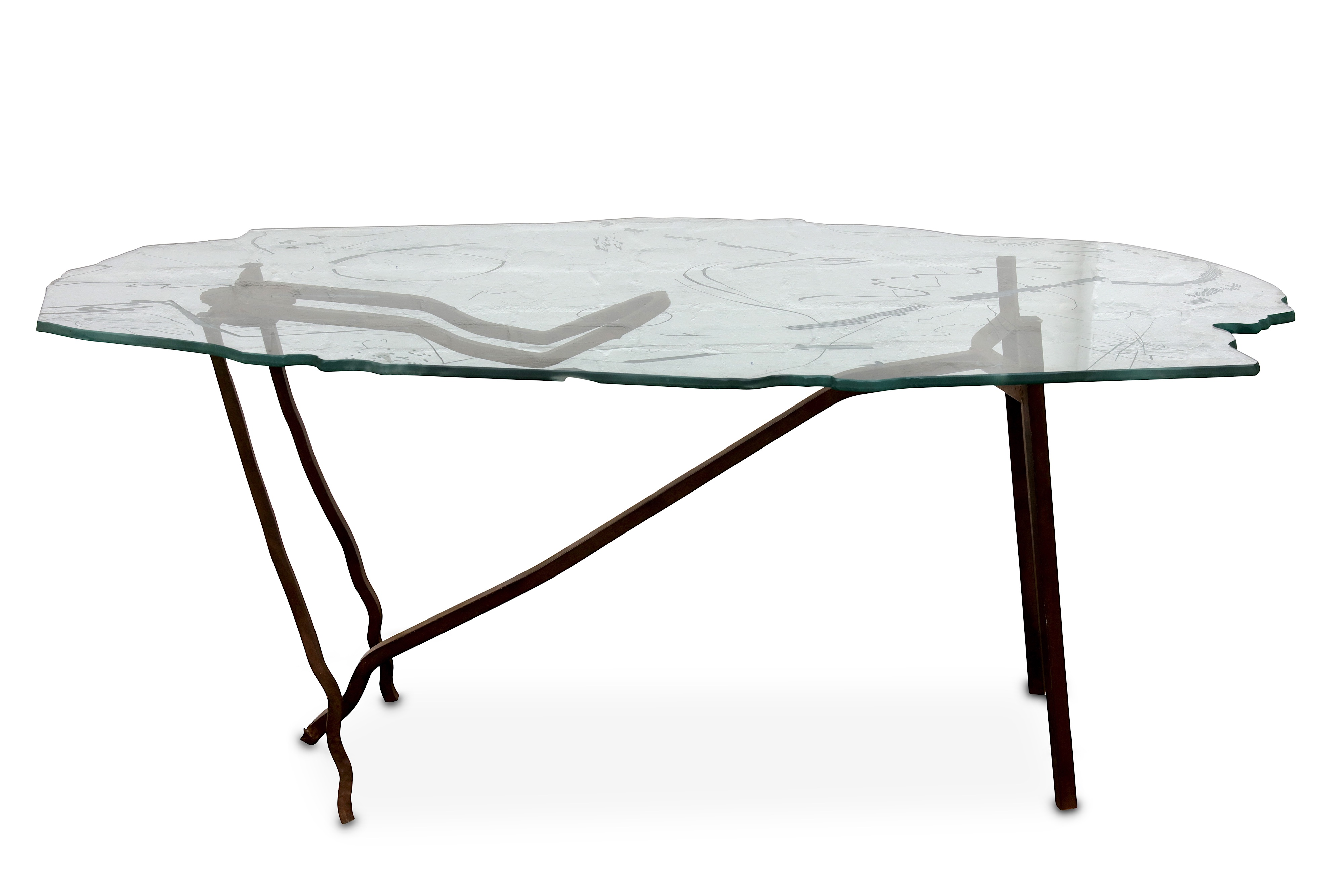 Lot 60 - DANNY LANE: A rare Romeo and Juliet Table, one from an edition of only five,