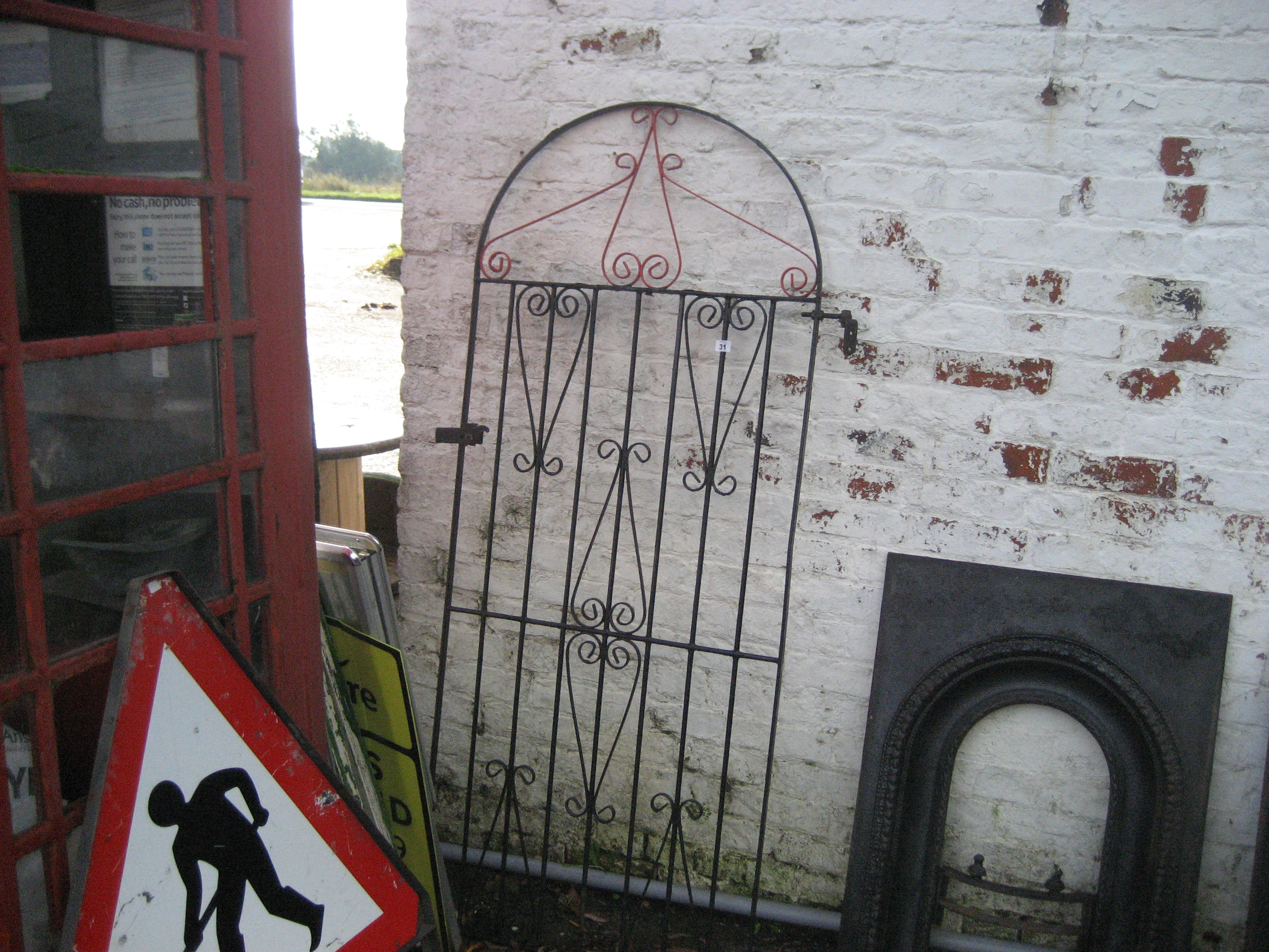 Lot 31 - METAL GATE