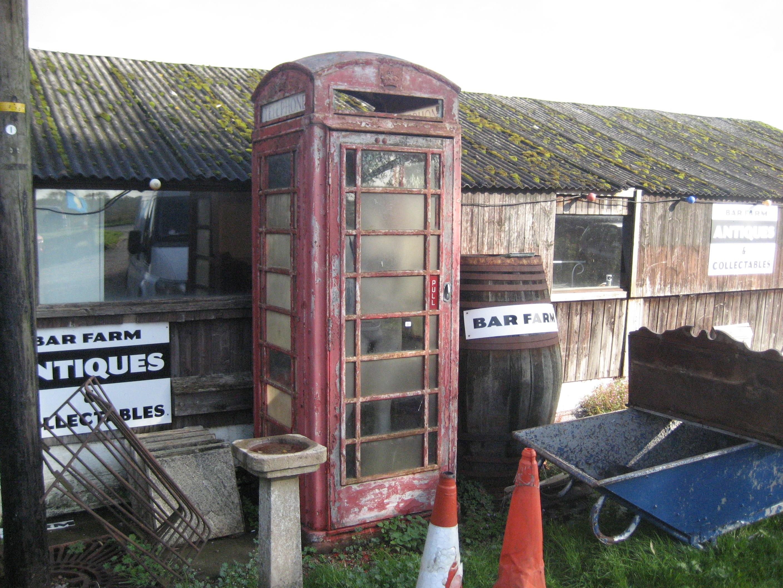 Lot 23 - RED TELEPHONE BOX