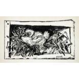 Pablo Picasso. Pigeonneau dans son nid Lithographie. 1947. 21,5 : 39,5 cm (32,7 : 50 cm). Abzug nach