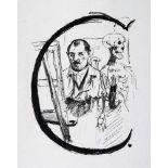 Lovis Corinth. Das ABC in Bildern. 25 Lithographien. 1917. 46,0 : 37,0 cm. Eins von 125