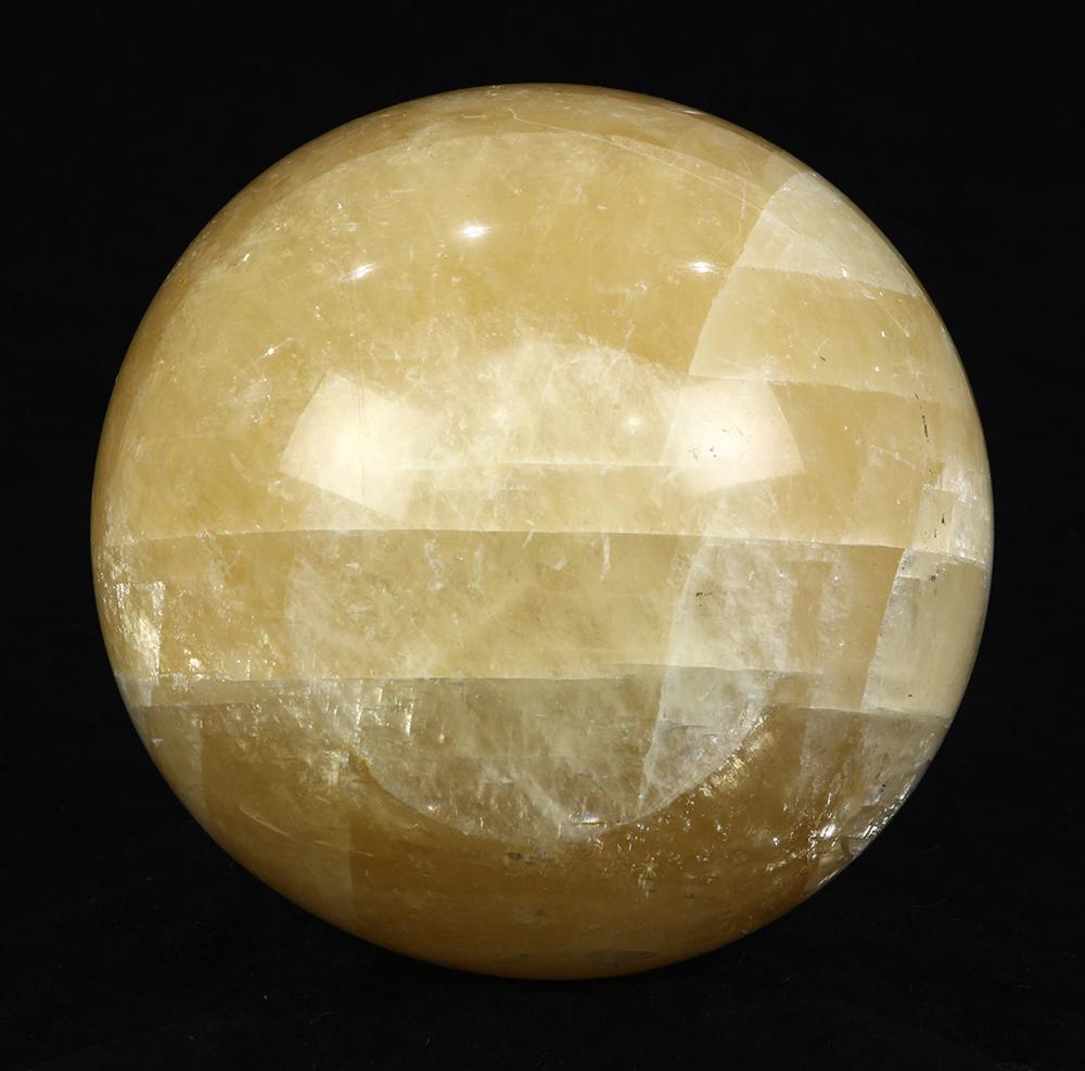 """Lot 5685 - Spherical crystal sphere, 7"""" dia"""