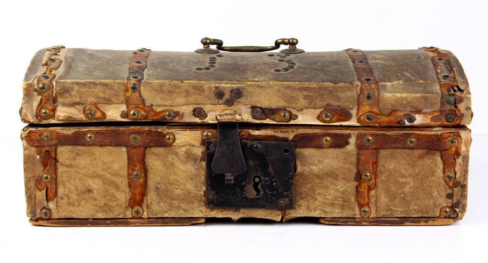 Lot 4678 - Document box, 19th Century, Haerhill, MA