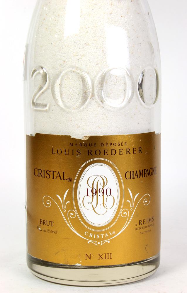 Lot 6087 - 2000 Louis Roederer Cristal Brut bottle