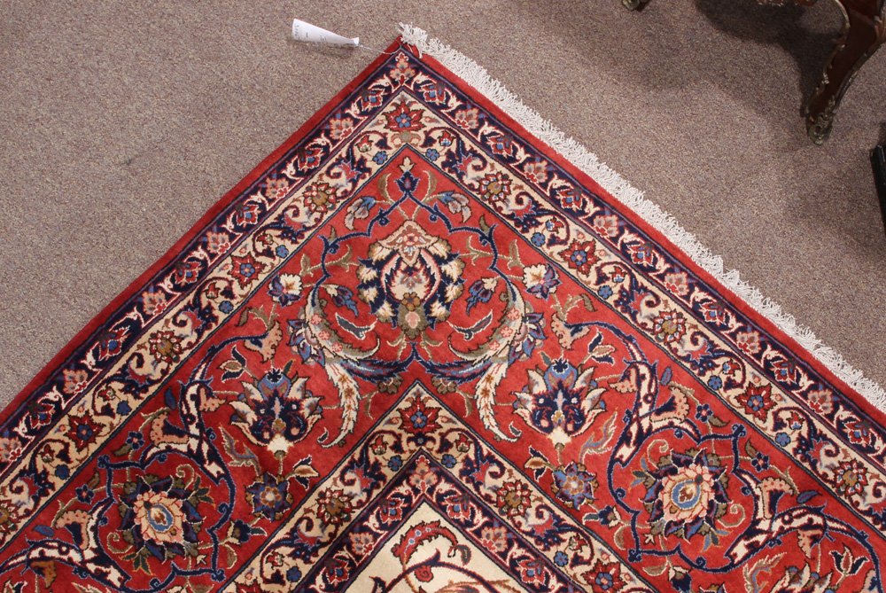 Lot 6311 - Persian Kashan carpet