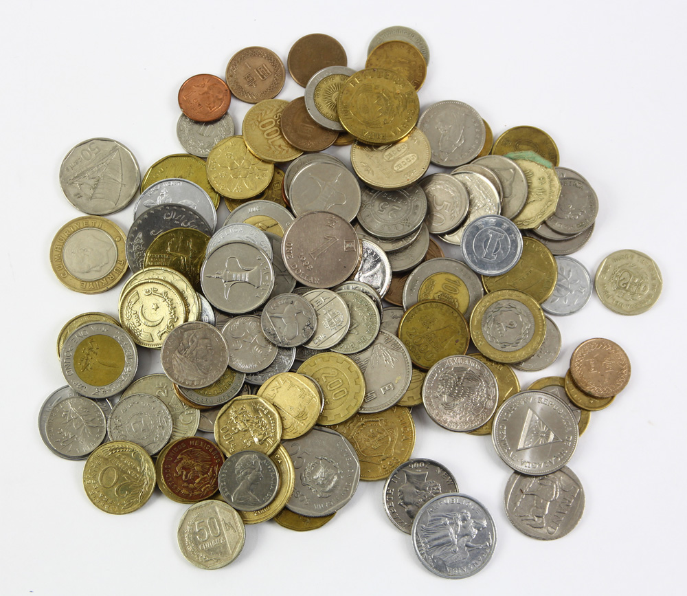 Lot 6806 - Large collection world coins