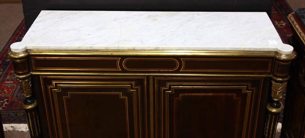 Lot 6307 - Napoleon III salon cabinet