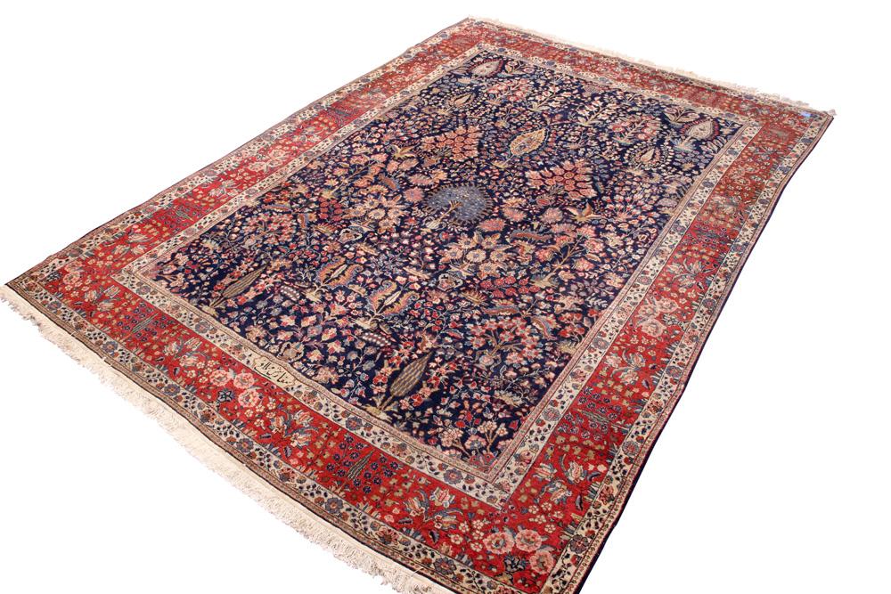 Lot 6618 - Persian Sarouk carpet