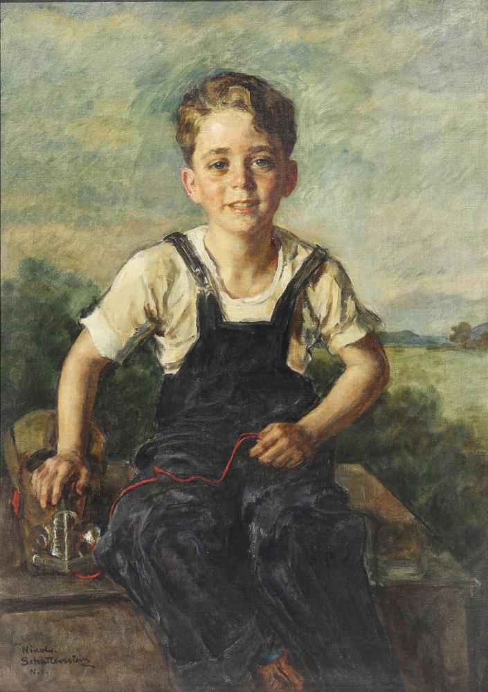 Lot 6442 - Painting, Nikol Schattenstein