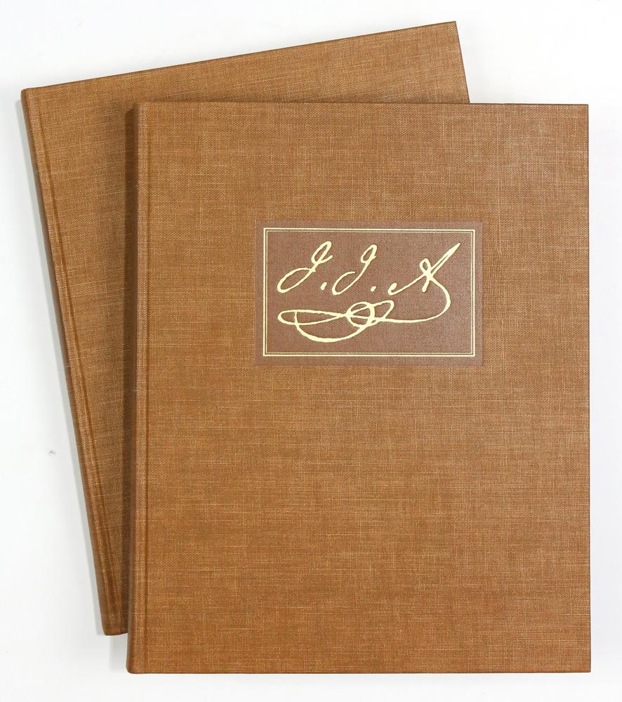 Lot 4628 - (lot of 2) Boxed set The Original Water-color Paintings by John James Audubon