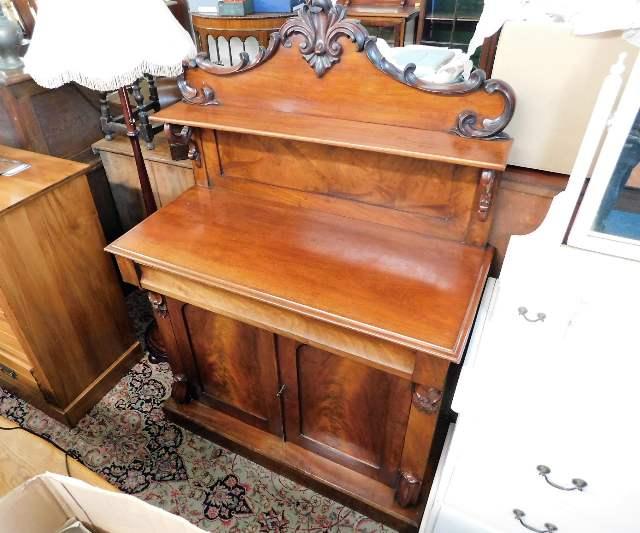 Lot 64 - A Victorian mahogany chiffonier