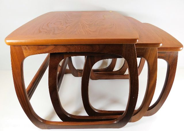 Lot 6 - A Nathan teak retro nest of tables