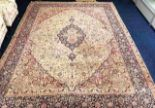 Lot 95 - A large decorative rug