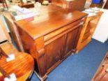 Lot 10 - A Victorian mahogany chiffonier