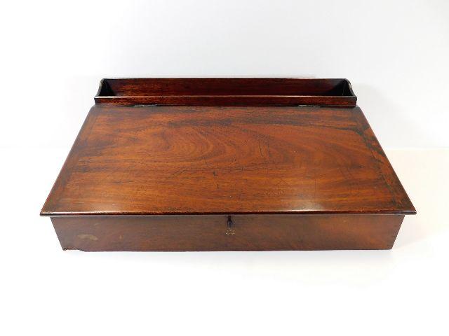 Lot 91 - A Victorian portable writing desk