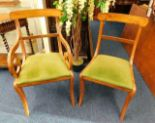 Lot 74 - Two Peter Blomfield dining chairs