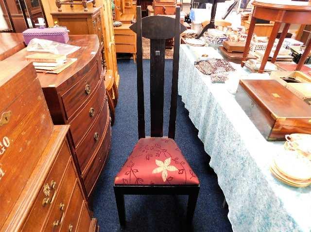 Lot 16 - A Peter Blomfield Mackintosh style Argyle chair