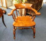 Lot 33 - A Peter Blomfield smokers bow chair