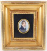 Lot 62 - Mounted in gilt frame, an 18thC. watercolour on iv