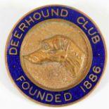 Lot 782 - A Deerhound Club badge