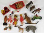 Lot 359 - A quantity of mixed vintage childs toys including