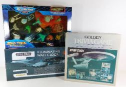 Star Trek Micro machines, an illuminated Star Trek