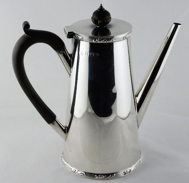 Lot 261 - A Christopher Dresser style Elkington & Co. silver