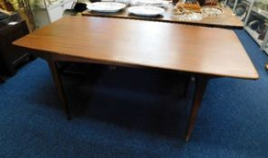 A Danish or G-Plan style 1960's retro teak table 6