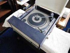 A vintage BSR record player a/f