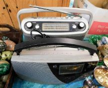 Two Roberts radios including one digital