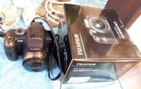 Two bridge cameras - Panasonic & Fujifilm