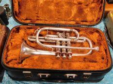 A Boosey & Hawkes cornet