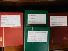 Four well stocked Eastern European stamp albums