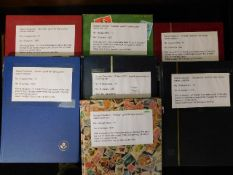 Seven well stocked stamp albums, mostly relating t