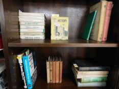 A small quantity of mixed books including Observer