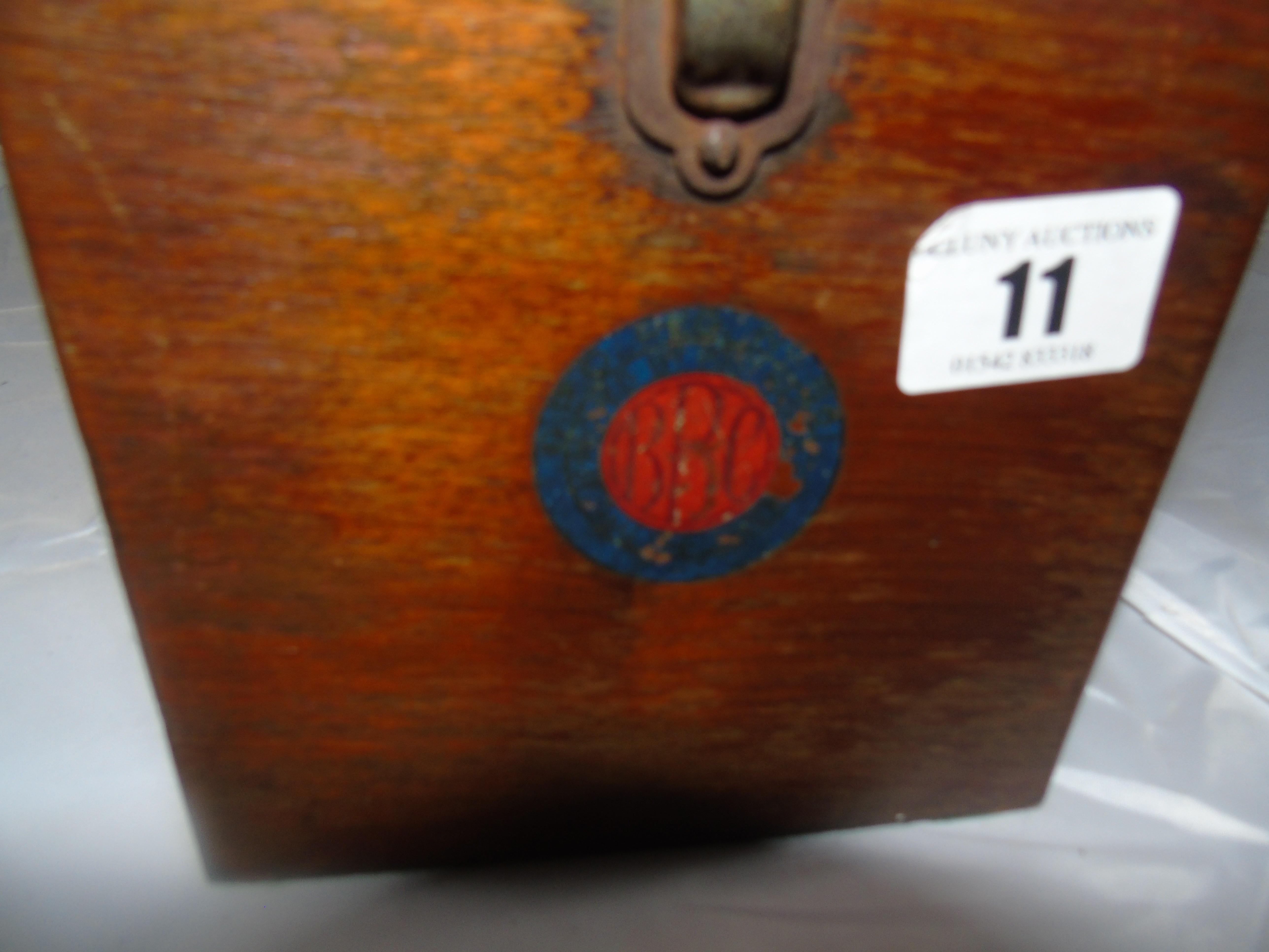 "Lot 11 - A""BIJOU"" CRYSTAL WIRELESS RECIEVER BY THE BRITISH THOMSON HOUSTON CO LTD EST [£80-£120]"