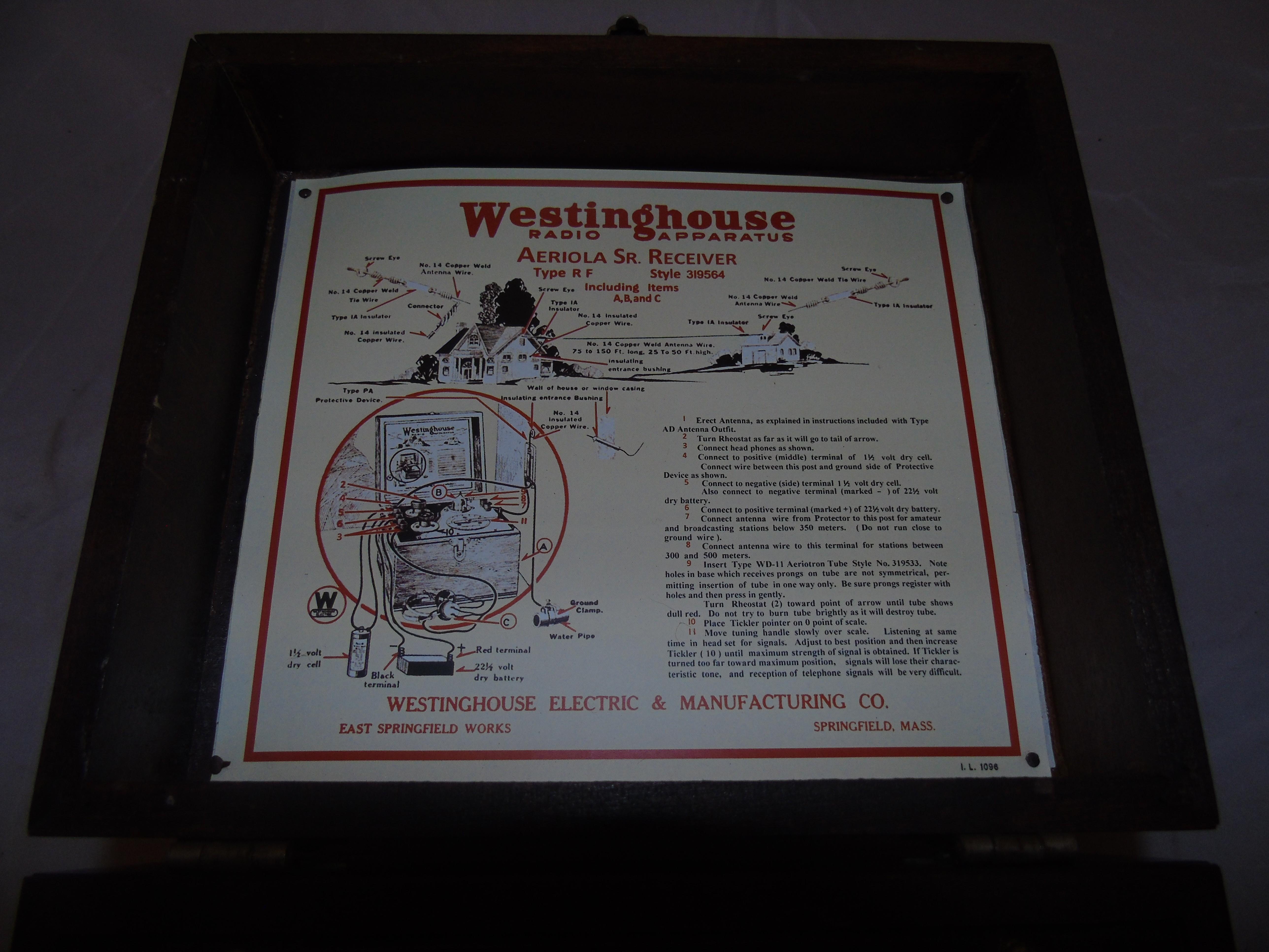Lot 27 - WESTINGHOUSE AEROLA BROADCAST RECIEVER OR POST WW2 TUNER EST [£30-£60]