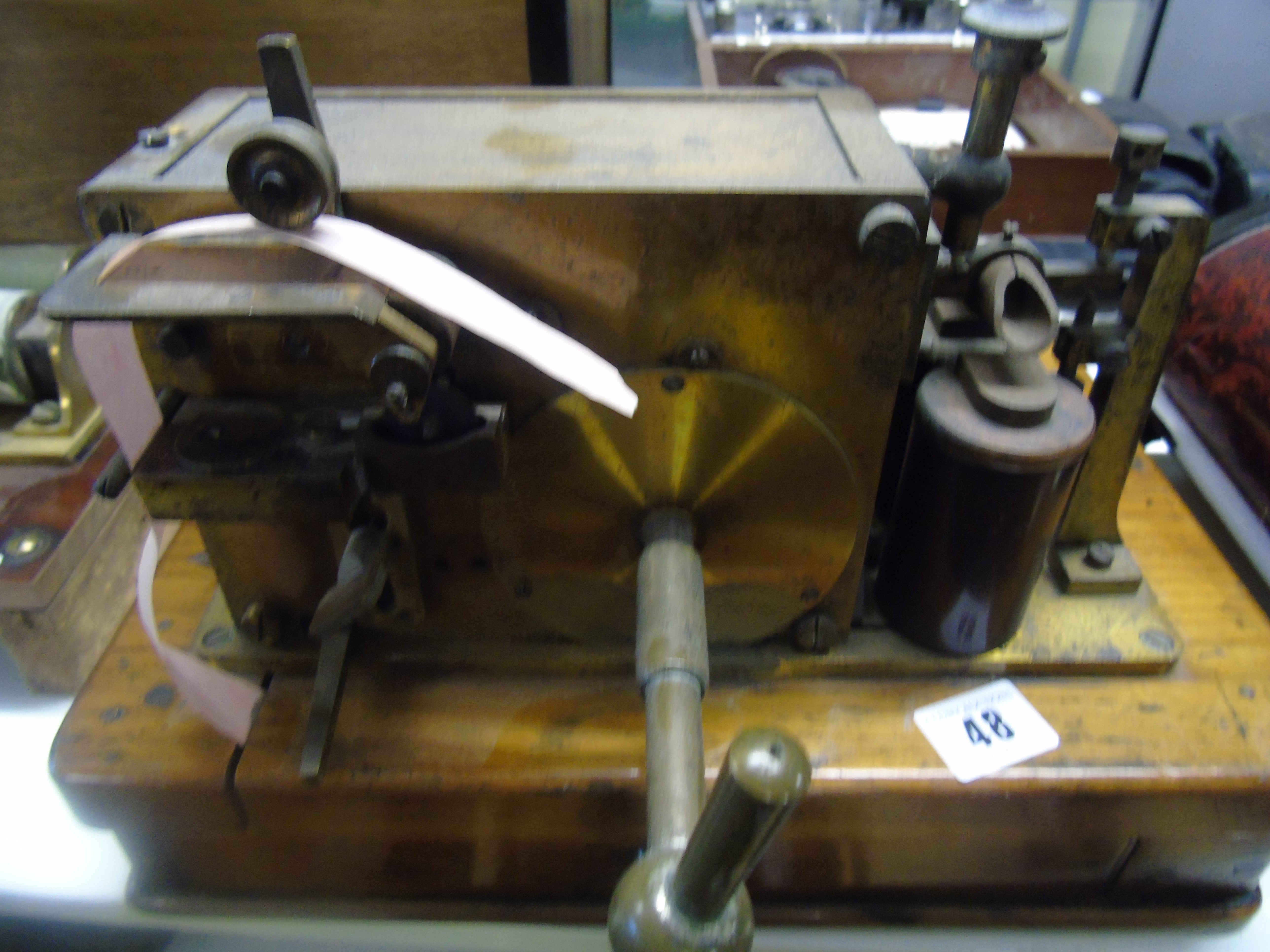 Lot 48 - AN EARLY MORSE INKERW53 USED IN FRANCE BY WAR DEPT IN 1917 (D17 234) EST[£100-£150]