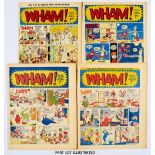 Lot 103 - WHAM! (1965-66) 99-119 and 17 issues between 55-94. Starring The Tiddlers, Frankie Stein, Georgie'