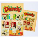 Lot 97 - Dandy/Korky The Cat original front cover artwork (1961) by Jimmy Chrichton for The Dandy No 1019