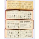 Lot 99 - Fred Basset by Alex Graham (1963-74) 1-20. In four bound volumes by Associated Newspapers containing