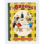 Lot 93 - The Broons Book (1960). Burns Night Supper wi' haggis, neeps an'tatties. D.C. Thomson hardback