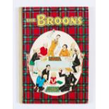Lot 61 - The Broons Book (1958). Family snakes and ladders. D.C. Thomson hardback office copy. According to