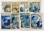 Lot 10 - Detective Weekly (1934-38) 43 issues between 51-279 [gd/vg] (43)