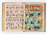 Lot 31 - Beano (July 1944-Dec 1945) 237-274. One and a half years complete (incl. both Xmas issues) in