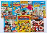 Lot 122 - Beano 'In Flight Fun' Magazine (1995-98) 1, 2, 5, 6. These issues were given away to passengers of