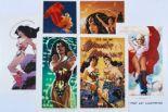 Lot 302 - Women of the DC Universe Folder 2 portfolio by Adam Hughes (2008) containing 6 prints: Wonder