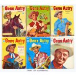Gene Autry (Dell UK reprints 1953-57) 1, 2, 4-9, 11-30. No 1: well worn covers, taped spine [fr], 4,