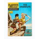 Classics Illustrated 163: The Argonauts (1950s) HRN 157. Only this scarce UK originated art